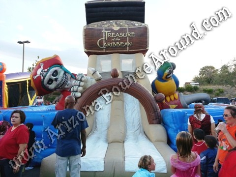 Pirate themed obstacle course rentals in Arizona