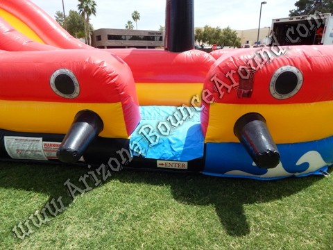 Pirate themed water slide rental Scottsdale AZ
