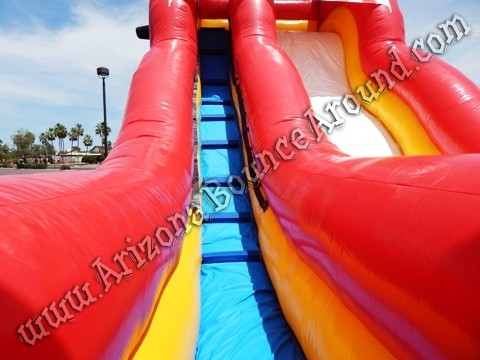 Pirate themed water slide rentals in Phoenix