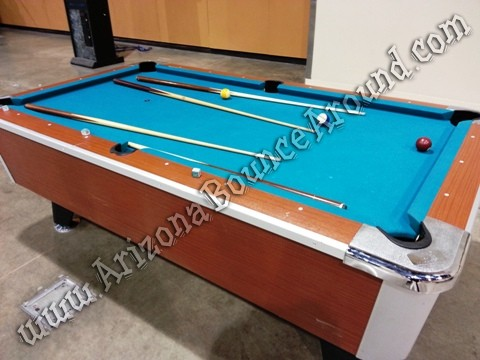 Pool table rental Scottsdale