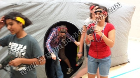 Portable Laser tag games for big groups Scottsdale Arizona