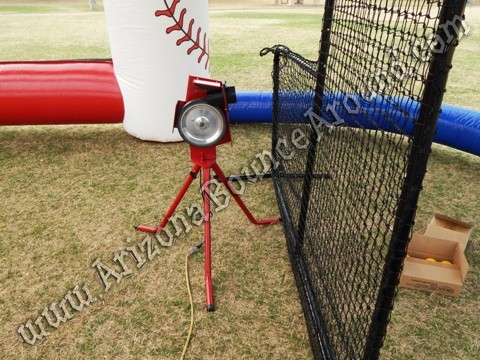 Portable Pitching machine rentals in Arizona
