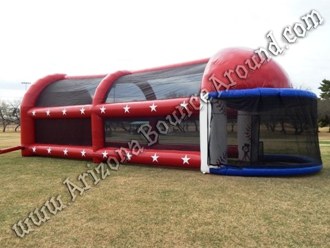 Portable batting cage rentals for parties and events in Phoenix AZ