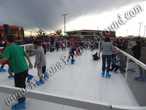 portable ice skating for events
