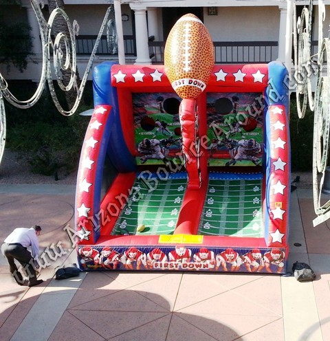 Quarterback throw game rental Phoenix Arizona