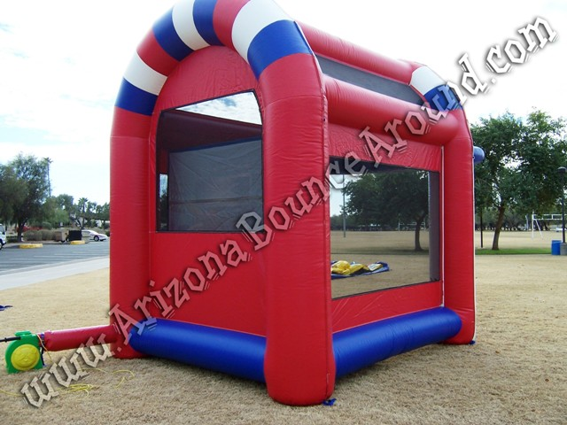 Radar speed pitch booth rentals Phoenix AZ