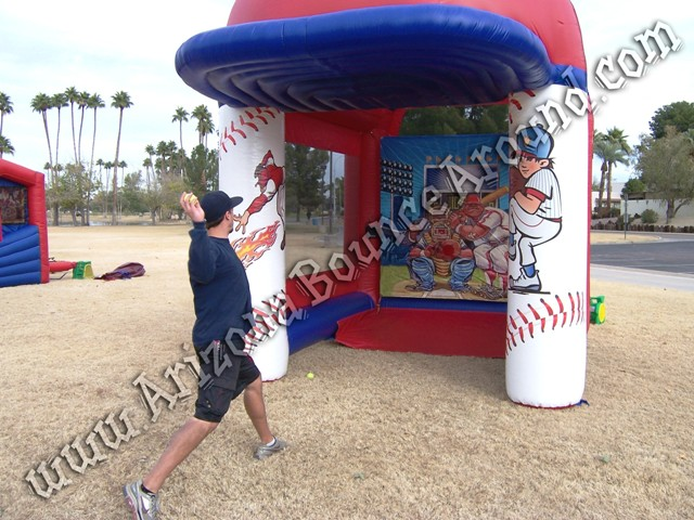 Radar speed pitch booth rentals Phoenix Arizona