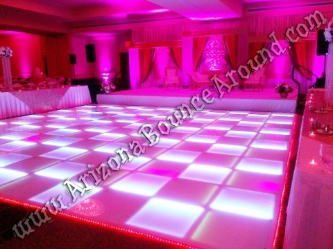 Rent LED dance floors in Scottsdale Arizona