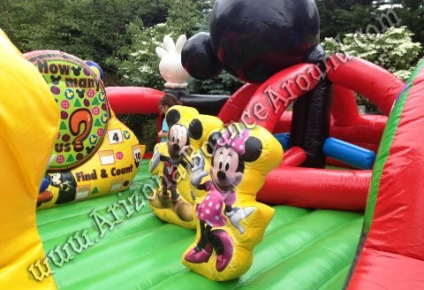 Rent a Mickey Mouse Inflatables for birthday parties Phoenix, Denver