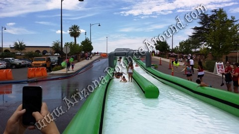 Rent a slide the city slip n slide in Phoenix Arizona
