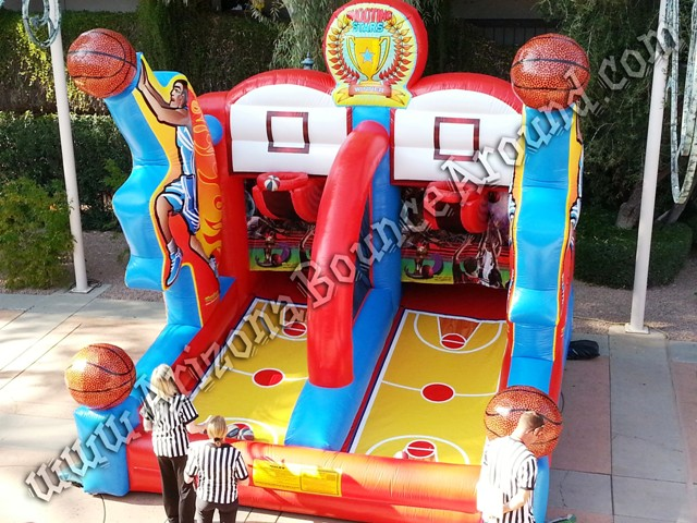 Rent basketball hoop games in Arizona, CA