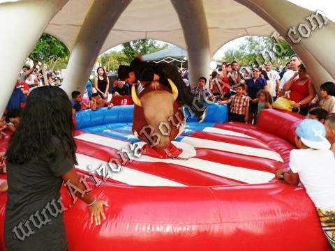Rent mechanical bulls in Arizona