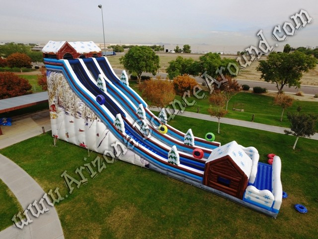 Rent tubing slides for holiday parties in Phoenix Arizona