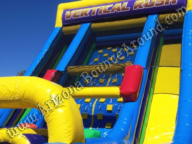 Rental Vertical rush inflatable obstacle course Arizona
