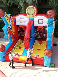 Basketball hoop rentals Phoenix Arizona