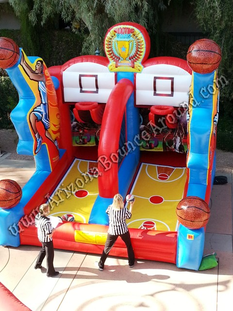 Rental basketball hoop games Phoenix Arizona