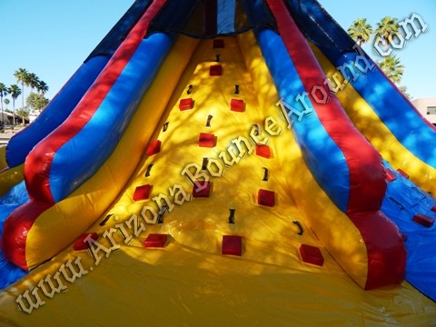 Rock climb slide rental Phoenix Arizona