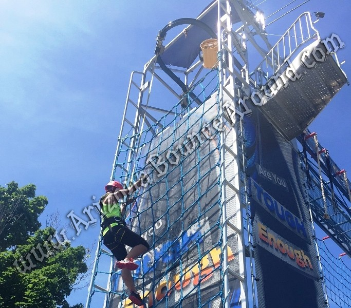 Rope net climbing wall rental Phoenix Arizona