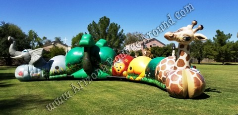 Safari themed inflatables for rent in Gilbert Arizona
