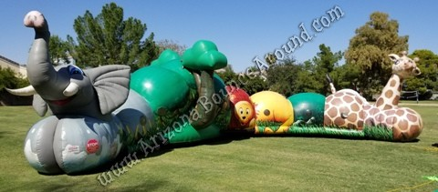 Safari themed inflatables for rent in Phoenix Arizona
