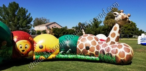 Safari themed inflatables for rent in Scottsdale Arizona
