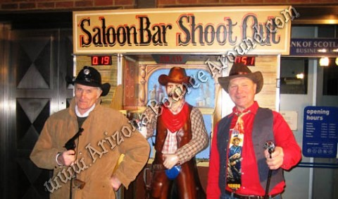 Saloon Bar Shootout Game Rentals in Scottsdale