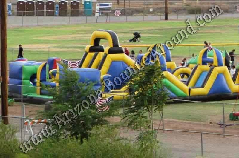 Shockwave Inflatable Obstacle Course Rental Phoenix Scottsdale AZ