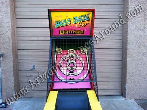 Skee Ball Arcade Games for rent in Arizona