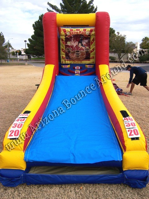 Skee ball game rentals Phoenix Arizona