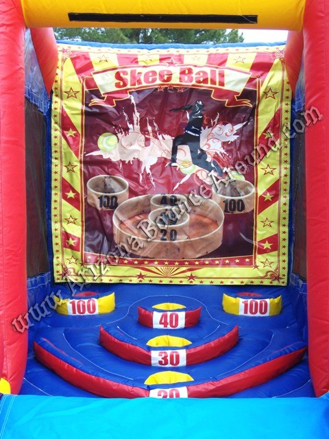 Skee ball machine rental Phoenix Arizona