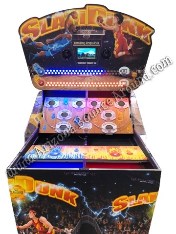 Slam Dunk Electronic Basketball Game Rental in Phoenix, Scottsdale, Tempe, Arizona