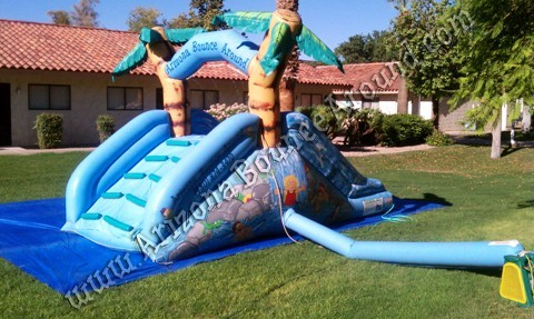 Small Water Slide Rentals for Childrens Birthday Parties Chandler Arizona
