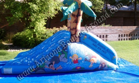Small Water Slide Rentals for Childrens Birthday Parties Phoenix