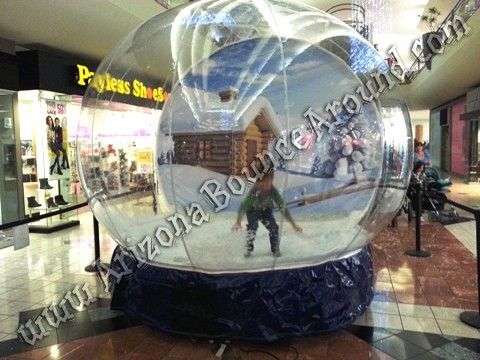 Snow Globe Photo Booth Rental Arizona