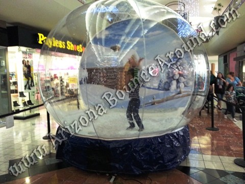 Snow Globe Photo Booth Rentals Phoenix Arizona