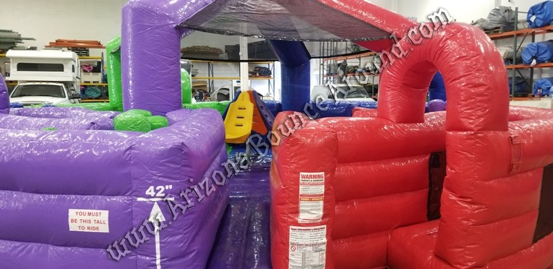 the storm inflatable obstacle course rental phoenix arizona