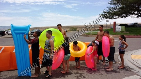 Summer event ideas giant slip n slides Arizona