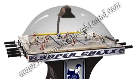 Super Chexx Bubble Ice Hockey Game Rental Phoenix Arizona