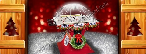 Super-Chexx Holiday Hockey Game Rental Phoenix Arizona