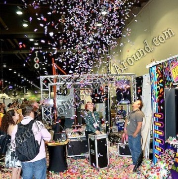 Surprise box confetti Cannon rental Phoenix AZ