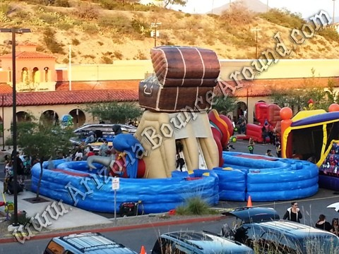 TREASURE OF THE CARIBBEAN inflatable obstacle course rental