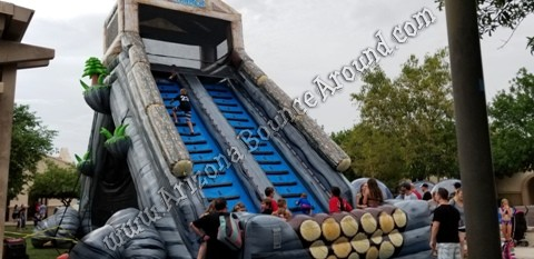 Tall Dual Lane Water Slide Rental Phoenix, Denver