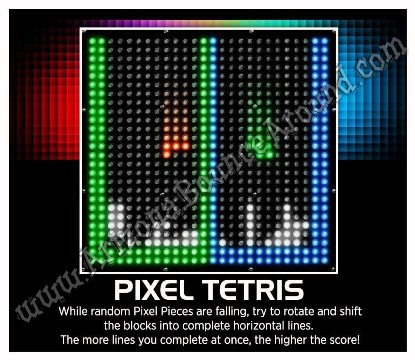 Tetris arcade game rental Phoenix Arizona