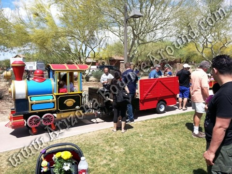 Trackless train rental AZ