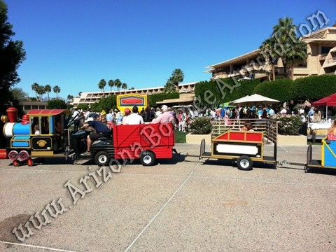 Trackless trains for rent Phoenix Arizona