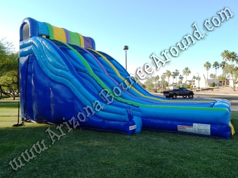 Tripple lane water slide rental Phoenix