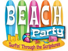 VBS beach party ideas, vacation bible school beach party rentals