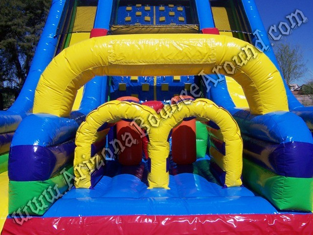 Vertical rush inflatable obstacle course rental Arizona