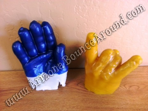 Wax hand art Phoenix Arizona