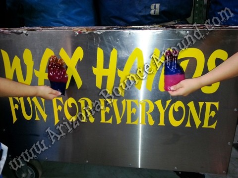 Wax hands machine rental Phoenix, AZ